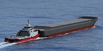 Cargo-Vessels-Pusher-Tug